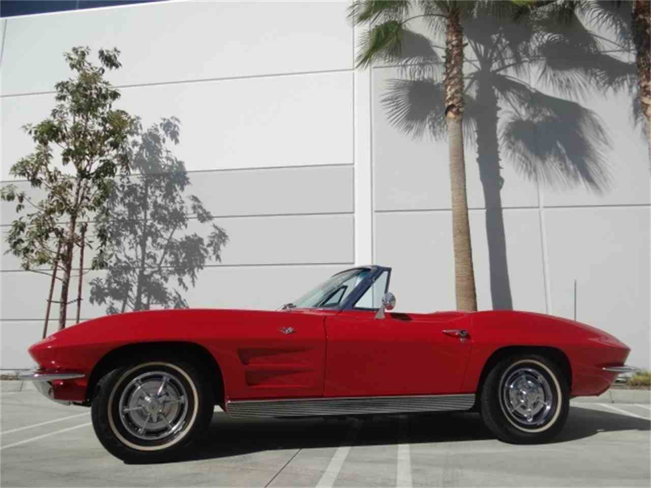 Large Picture of Classic 1963 Chevrolet Corvette located in Anaheim California - $49,900.00 Offered by West Coast Corvettes - MUAW