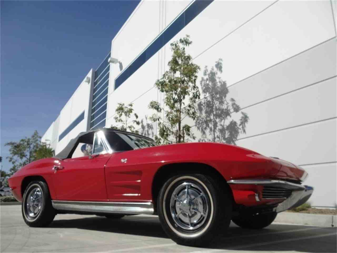 Large Picture of '63 Chevrolet Corvette located in Anaheim California - $49,900.00 Offered by West Coast Corvettes - MUAW