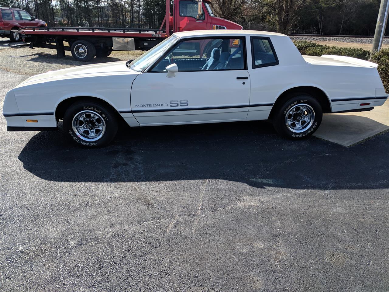 Ss Monte Carlo >> 1984 Chevrolet Monte Carlo Ss For Sale Classiccars Com Cc 1065826