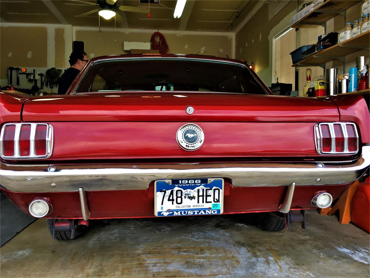Large Picture of '66 Mustang - MUED