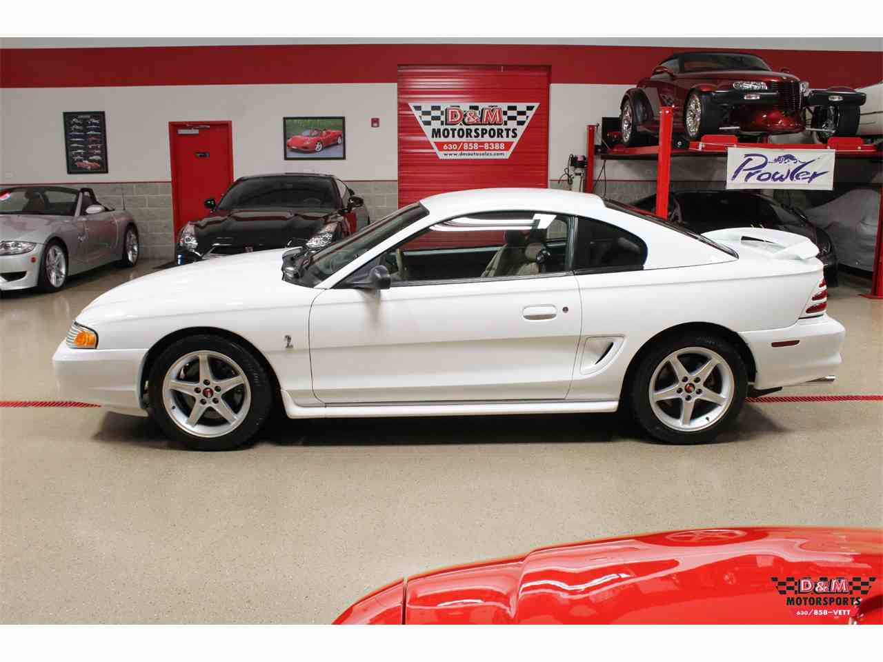 1995 ford mustang cobra for sale cc 1060585. Black Bedroom Furniture Sets. Home Design Ideas