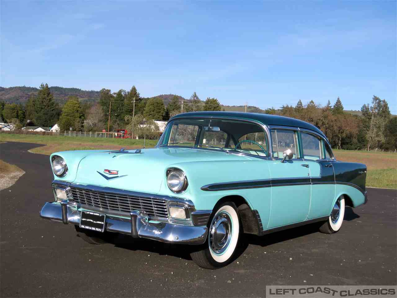 Large Picture of Classic '56 Bel Air located in Sonoma California - $19,900.00 Offered by Left Coast Classics - MUOX