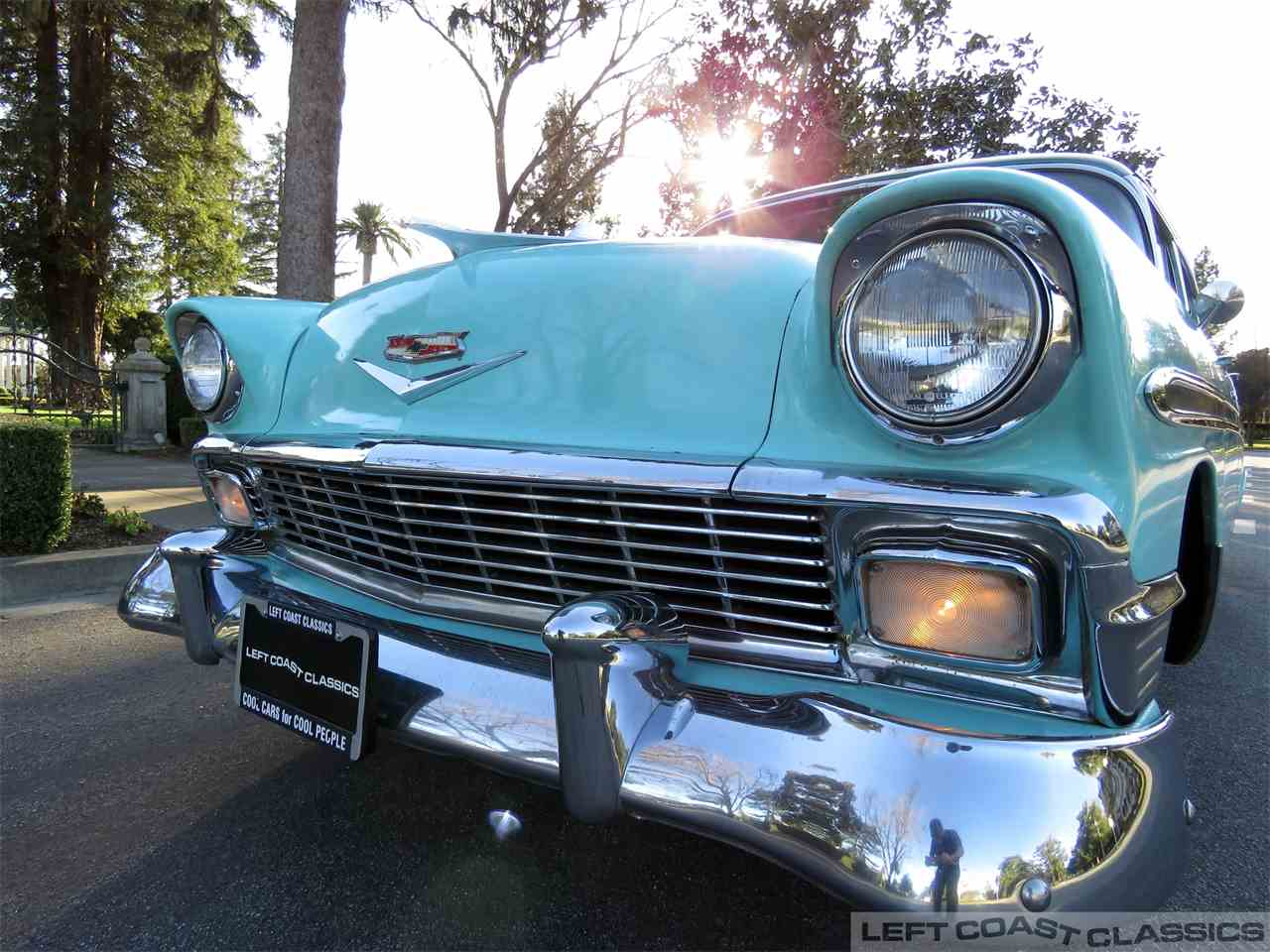 Large Picture of Classic 1956 Bel Air - $19,900.00 Offered by Left Coast Classics - MUOX
