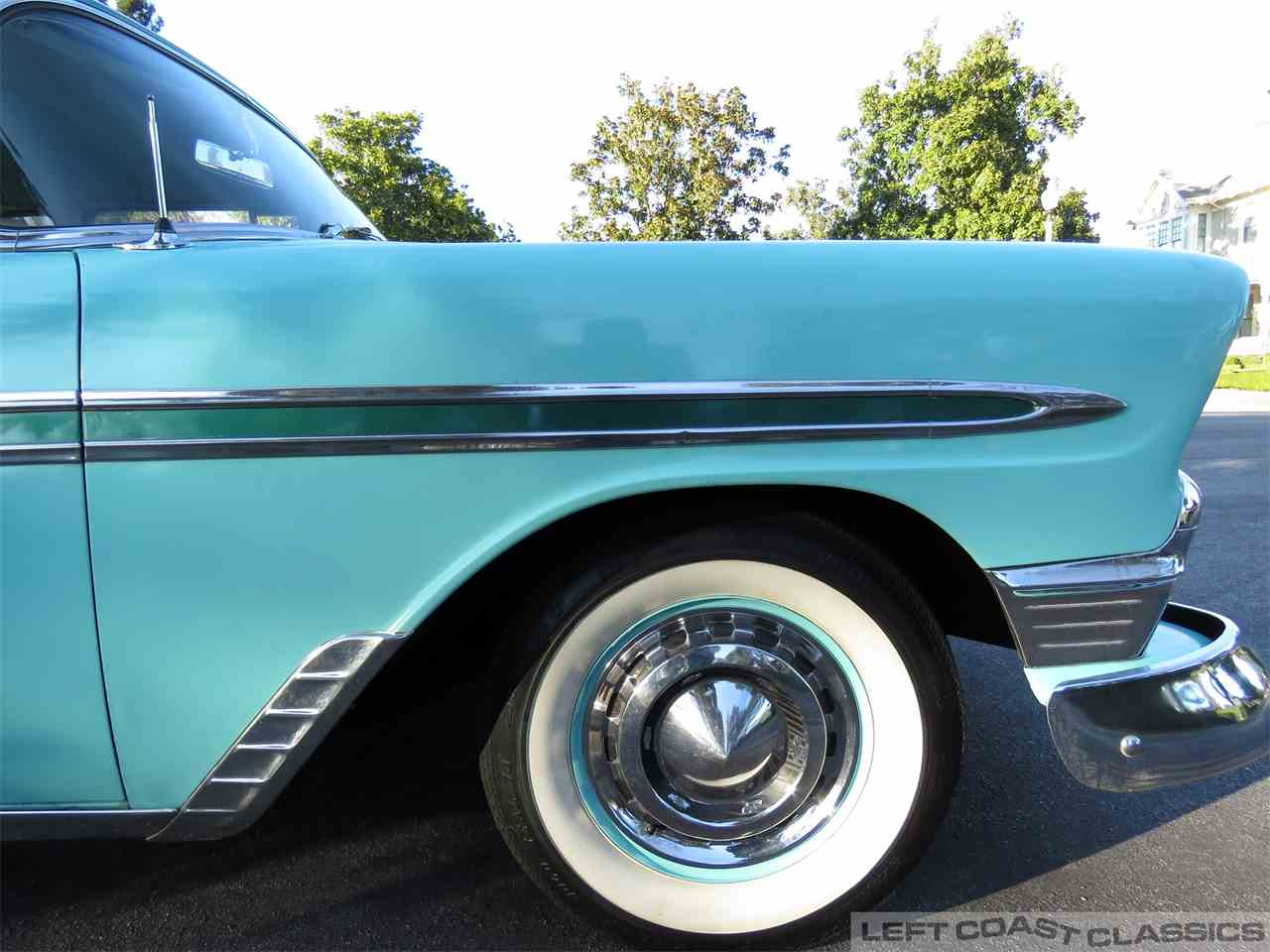 Large Picture of Classic 1956 Bel Air located in Sonoma California Offered by Left Coast Classics - MUOX