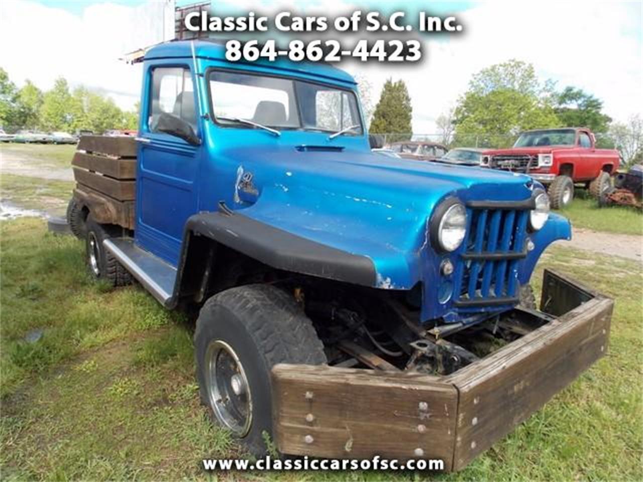 Jeep Willys For Sale >> 1955 Jeep Willys For Sale Classiccars Com Cc 1066248