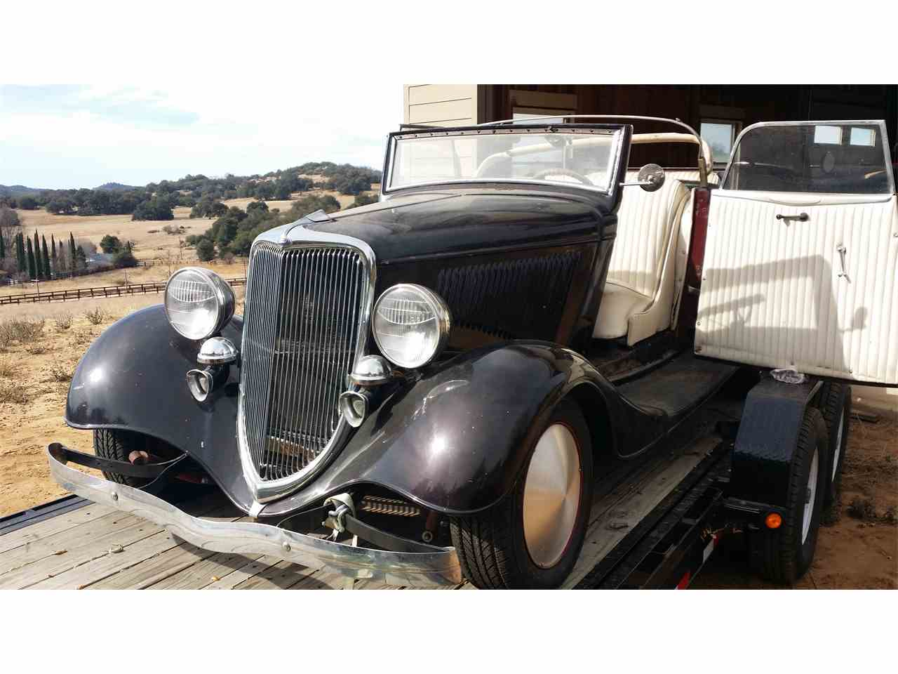 Large Picture of '34 Cabriolet - MUVV