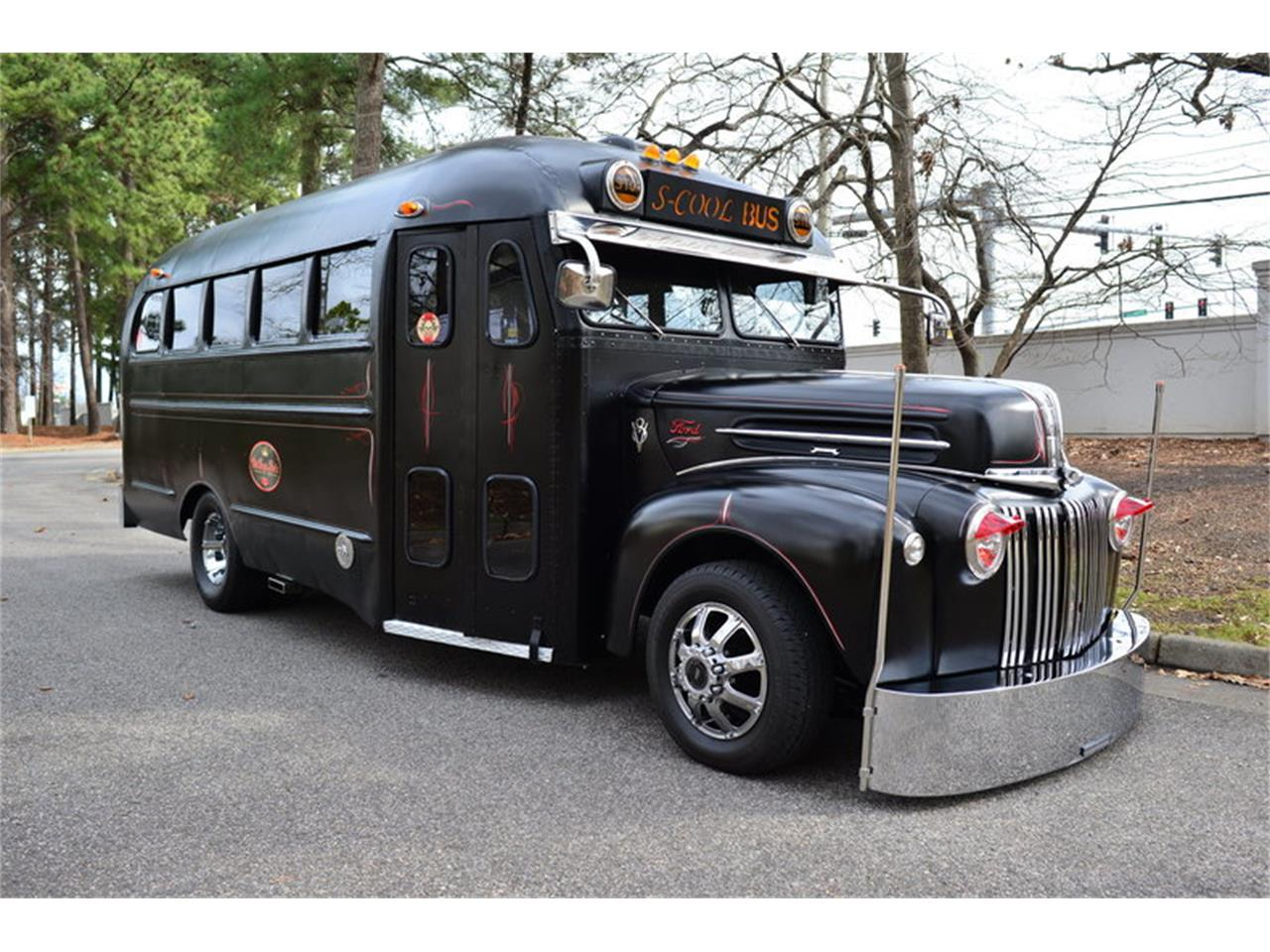 1940 Ford School Bus Short Bus Custom for Sale | ClassicCars