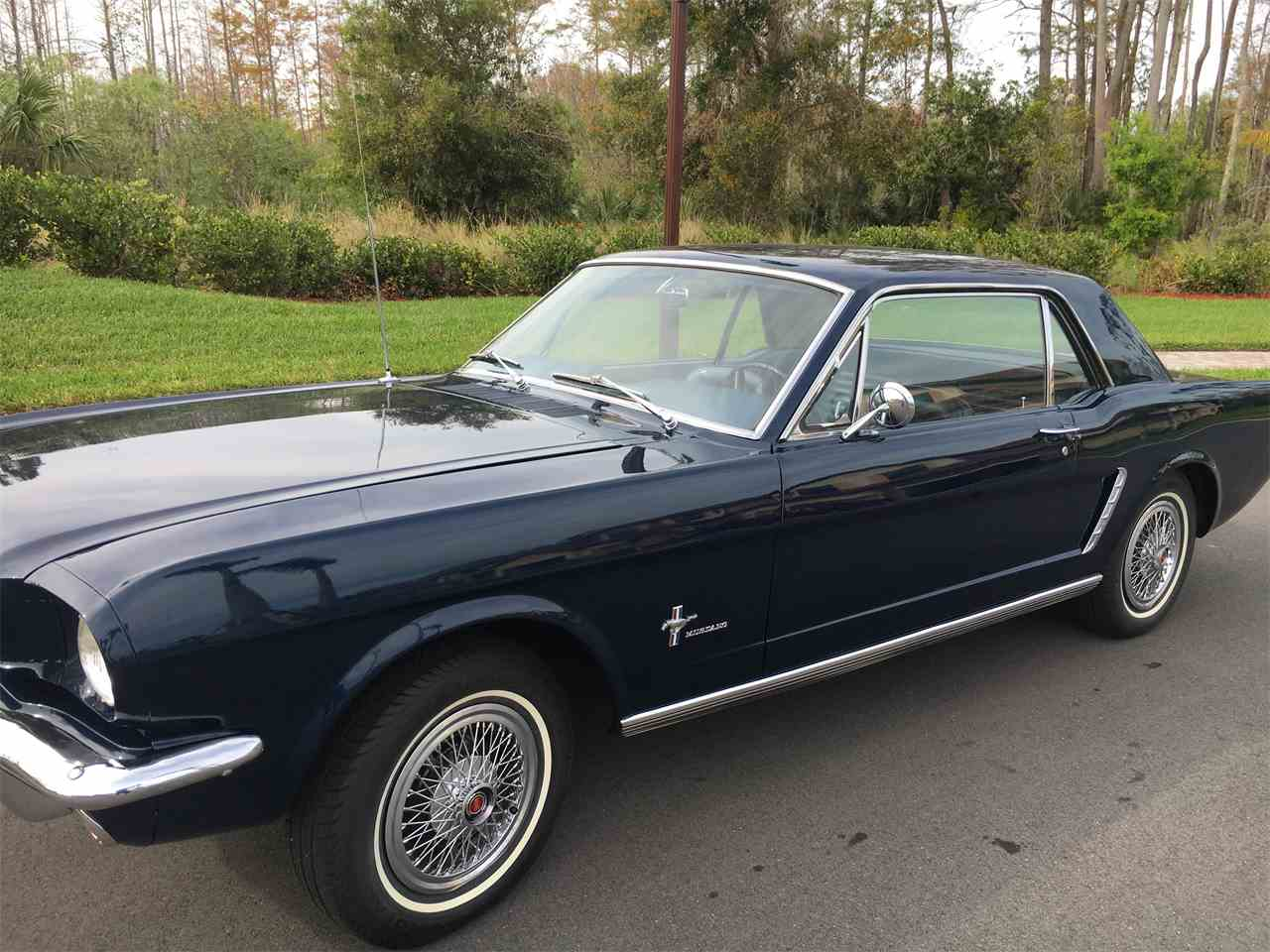 Large Picture of Classic 1965 Ford Mustang located in Naples Florida - MVBG