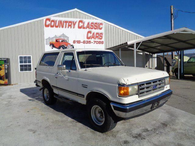 Picture of '87 Bronco - MVCS