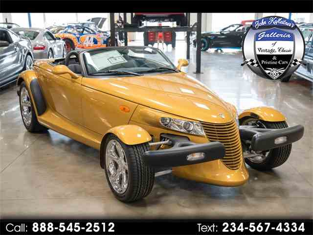 Picture of '02 Chrysler Prowler - $49,800.00 Offered by  - MVNR
