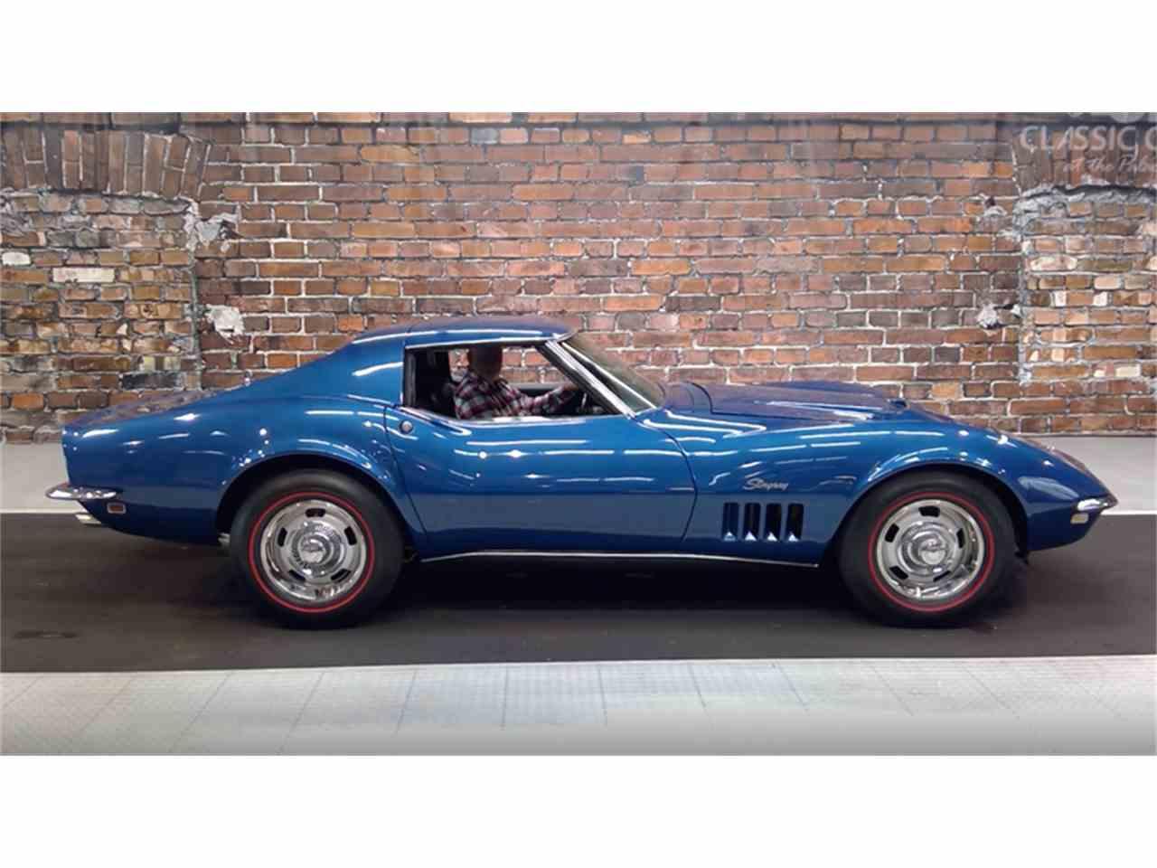 1968 chevrolet corvette for sale cc 1067490. Black Bedroom Furniture Sets. Home Design Ideas
