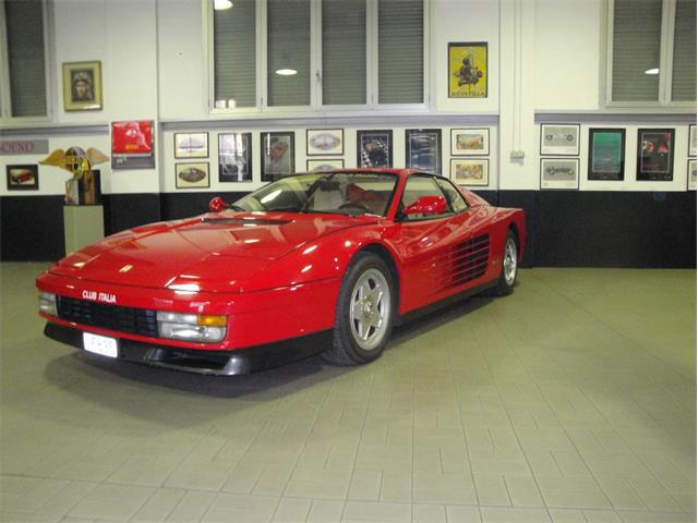 Picture of '87 Ferrari Testarossa located in Milan Italy Auction Vehicle Offered by a Private Seller - MVR6