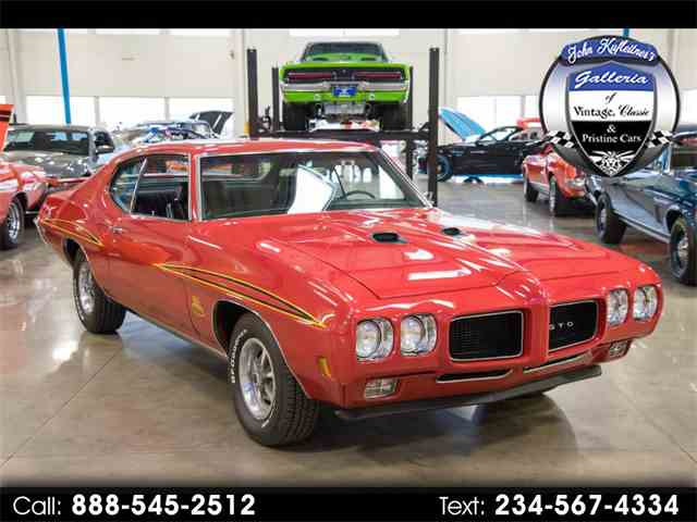 Picture of Classic '70 GTO located in Ohio - $47,500.00 Offered by  - MVUT