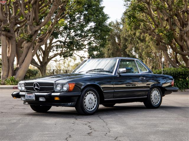 1989 Mercedes Benz 560sl For Sale On Classiccars Com