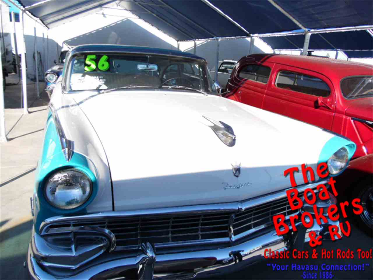 Large Picture of '56 Fairlane Victoria - MVY1