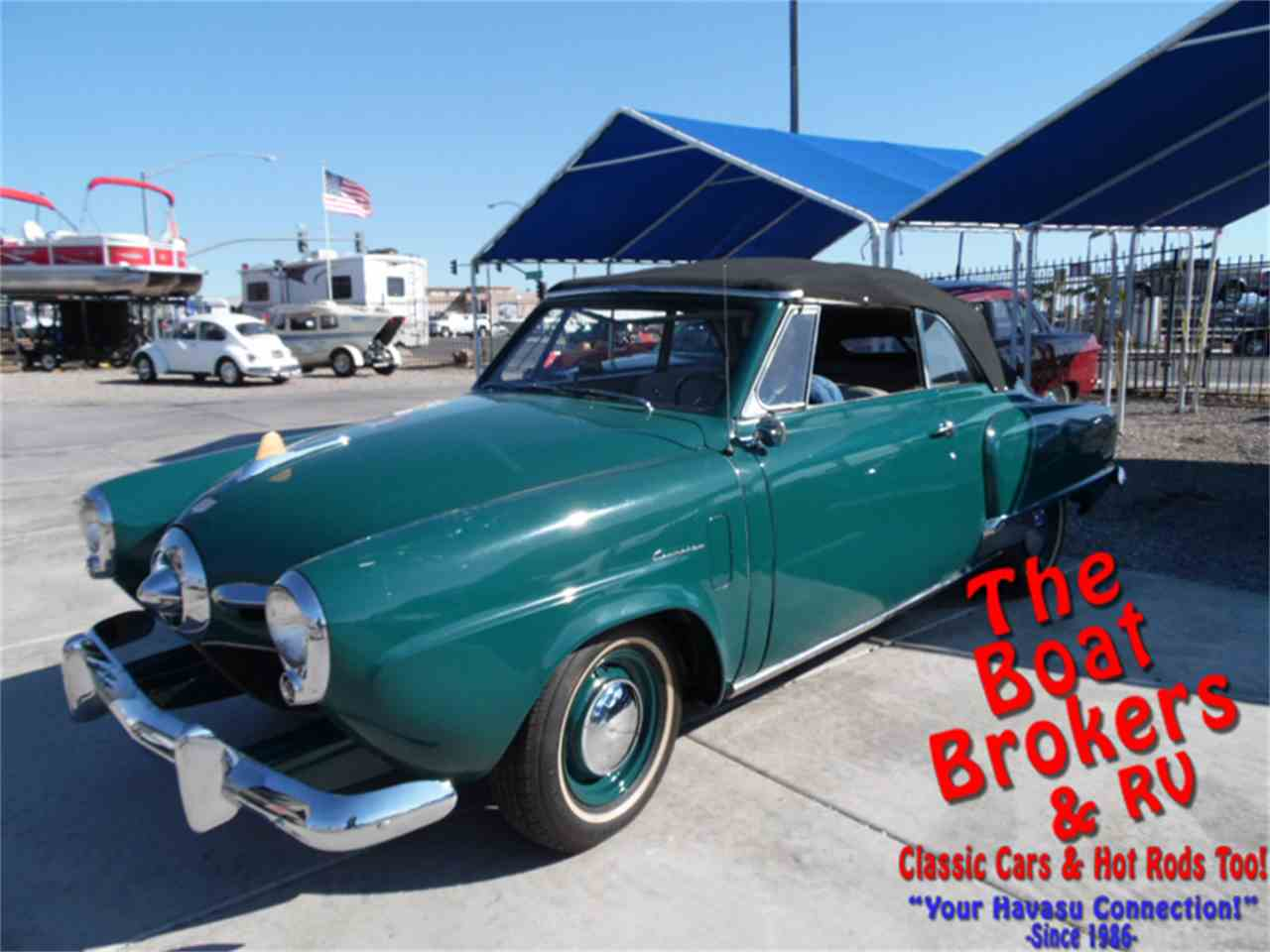 Auto Dealership For Sale Arizona: 1950 Studebaker Champion Regal Deluxe Convertible For Sale