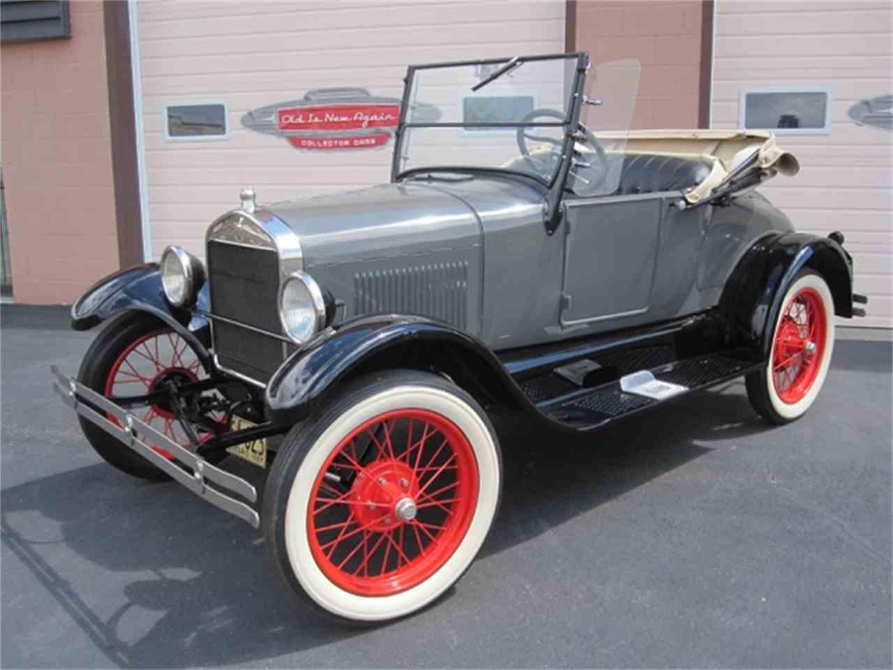 1927 ford model t for sale cc 1067933. Black Bedroom Furniture Sets. Home Design Ideas