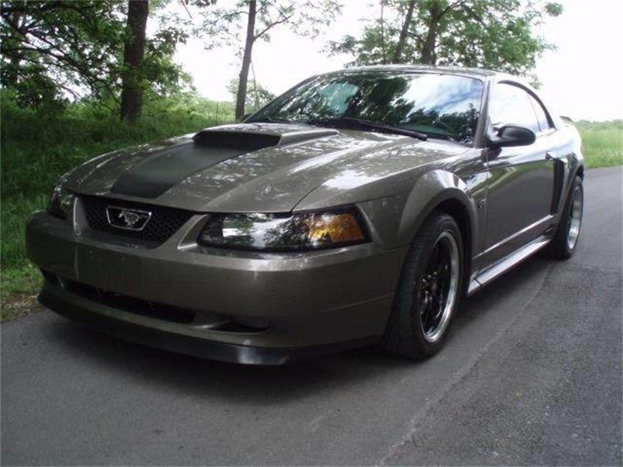 A Ford Mustang 2002