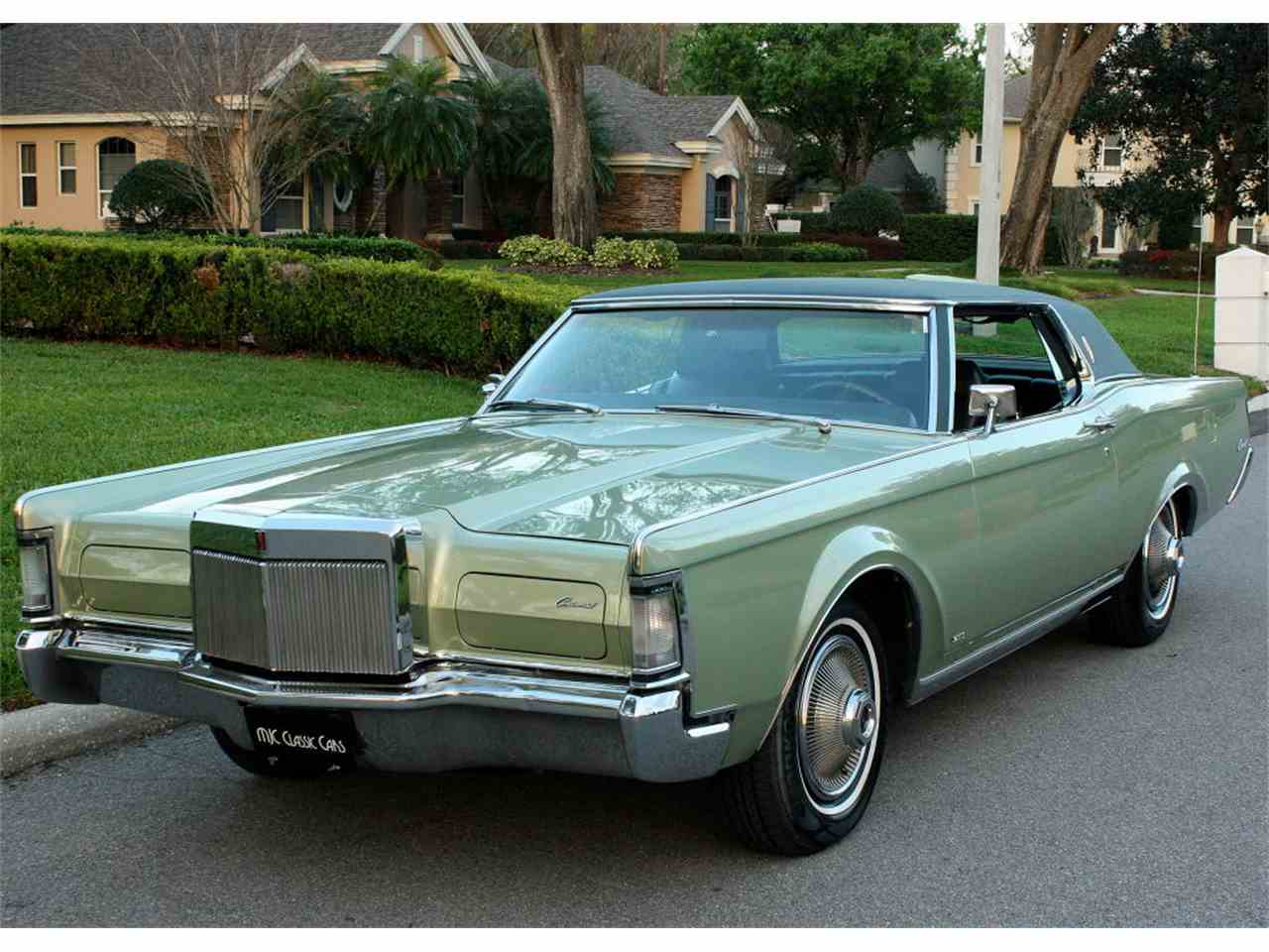 1969 lincoln continental mark iii for sale cc 1068205. Black Bedroom Furniture Sets. Home Design Ideas