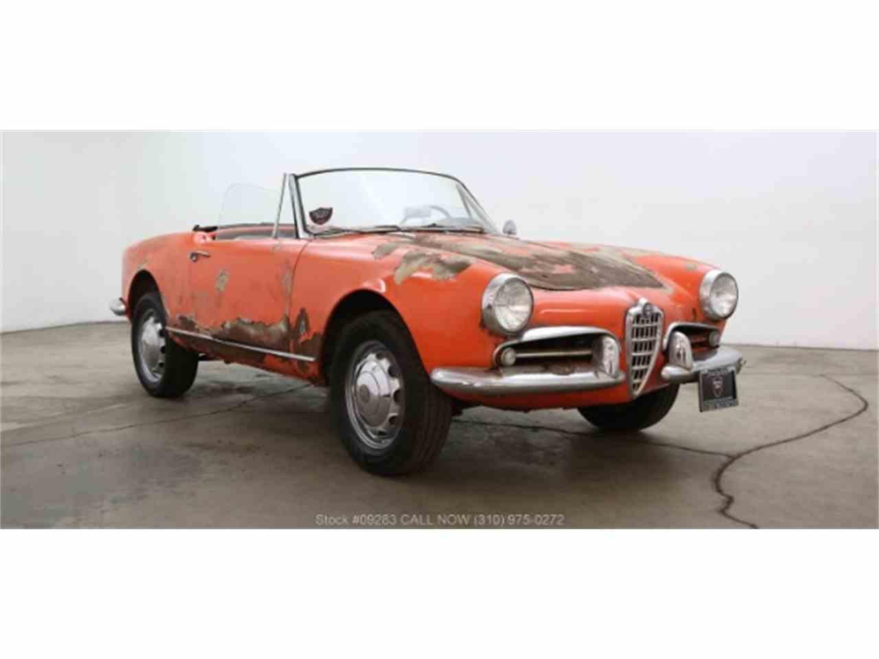 1961 alfa romeo giulietta spider for sale | classiccars | cc