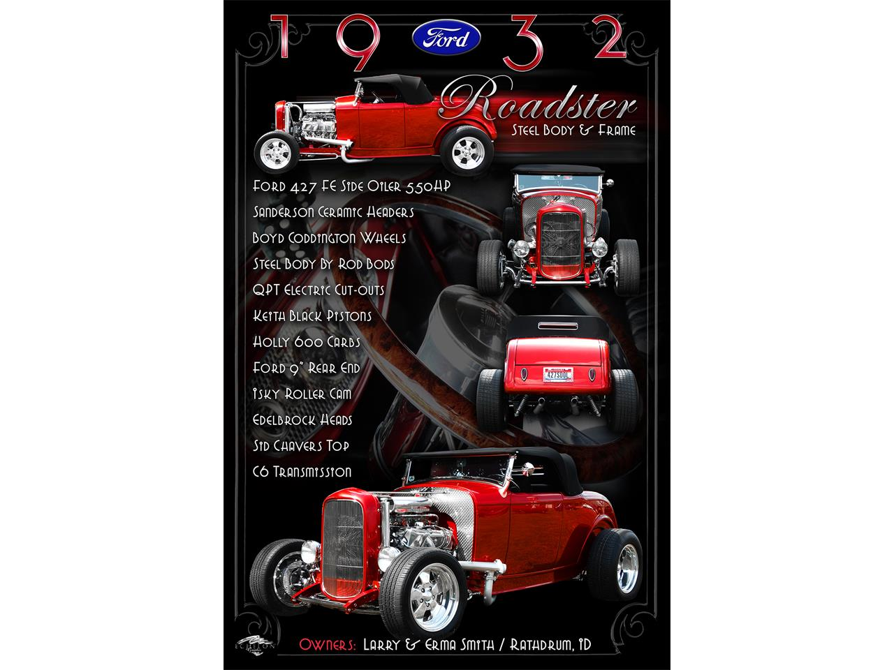 Large Picture of Classic 1932 Ford Roadster - $69,900.00 Offered by a Private Seller - MWBS