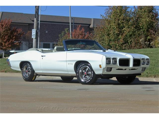 Picture of '70 Pontiac GTO located in Kansas Offered by  - MWD8