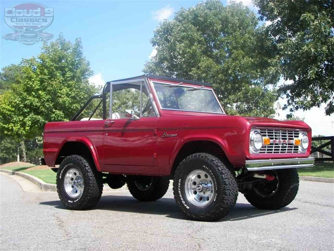 cab sale half broncos early ford for bronco