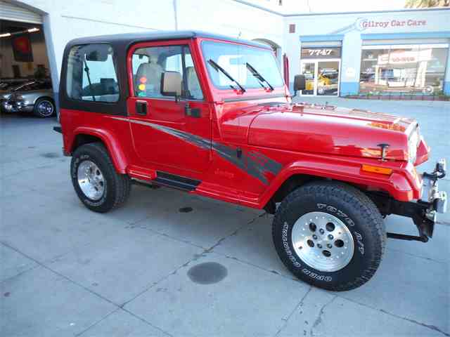 Picture of '94 Jeep Wrangler located in Gilroy California - MWDN