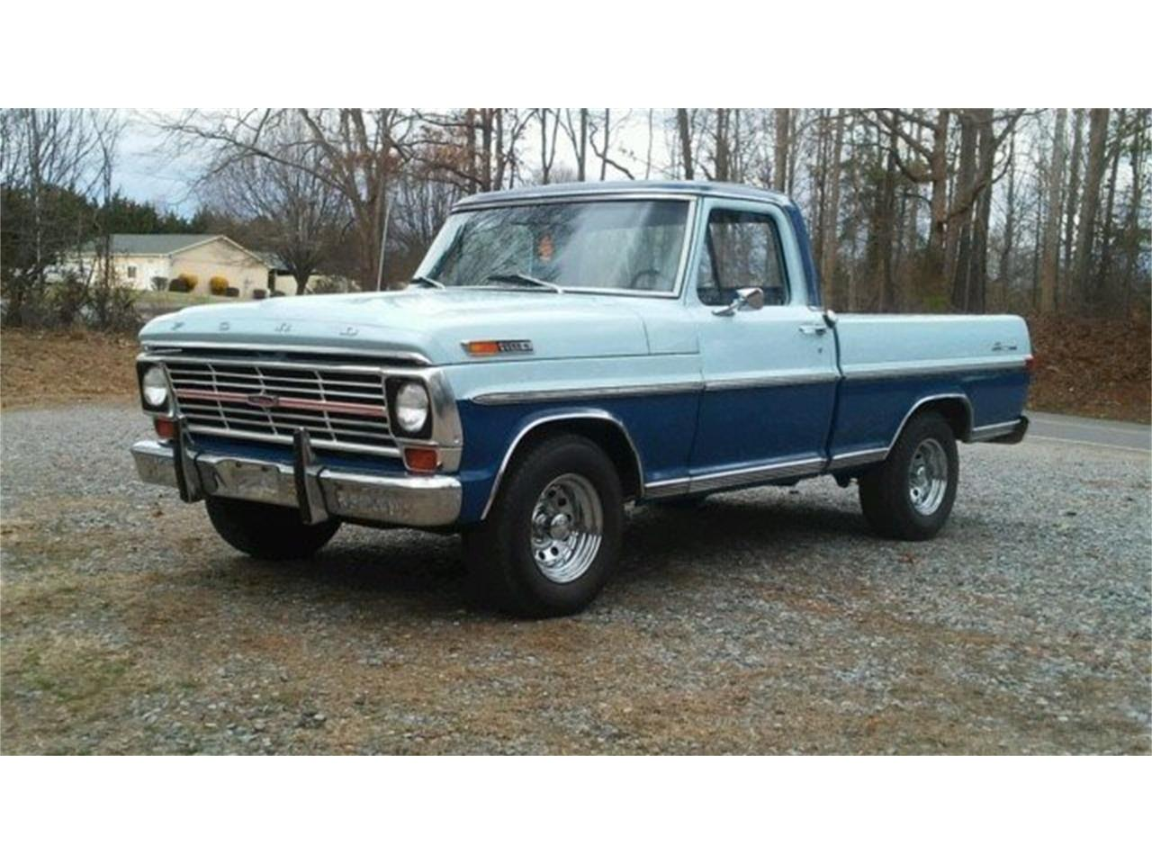 1969 Ford F100 For Sale Cc 1068426 Short Bed Large Picture Of Auction Vehicle Offered By Gaa Classic Cars Auctions Mwei