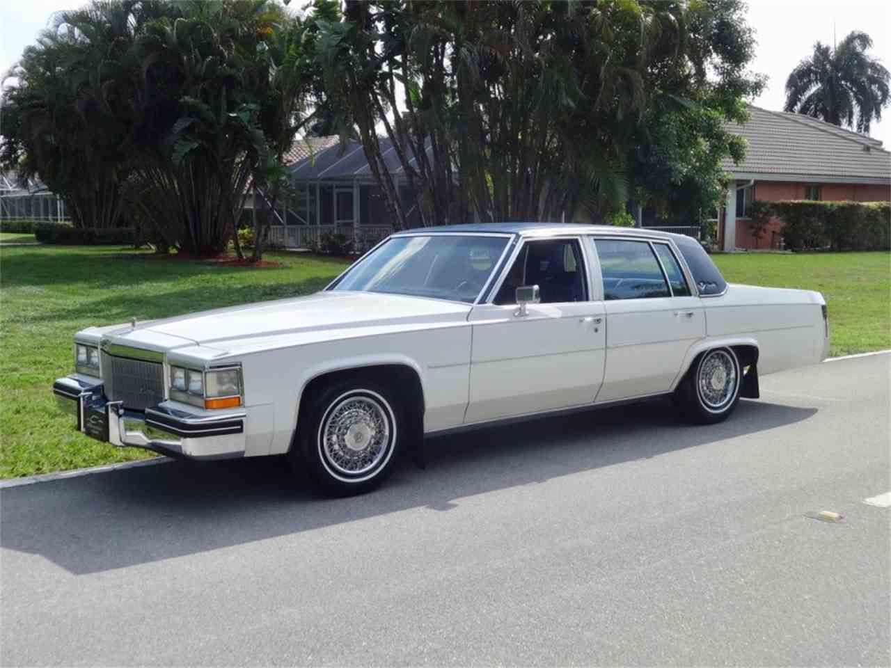 1984 Cadillac Sedan DeVille for Sale | ClicCars.com | CC-1068756