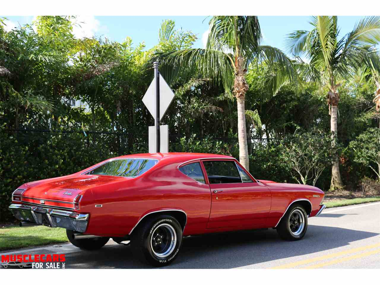1968 chevrolet chevelle ss for sale cc 1068760. Black Bedroom Furniture Sets. Home Design Ideas