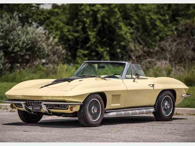 Picture of 1967 Chevrolet Corvette Stingray Auction Vehicle - MWTR
