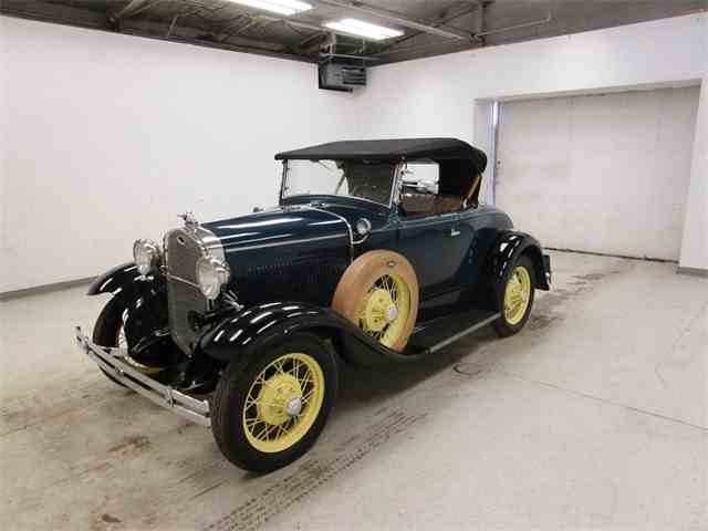 Picture of '31 Model A DeLuxe Roadster - MWUY