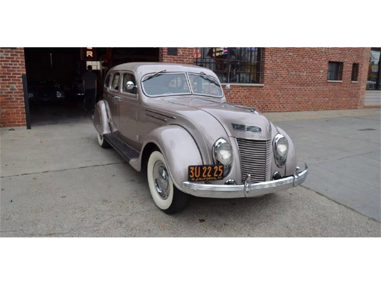 Cohort Sighting: 1937 Chrysler Imperial Town Car – Walter ...  |1937 Chrysler Imperial