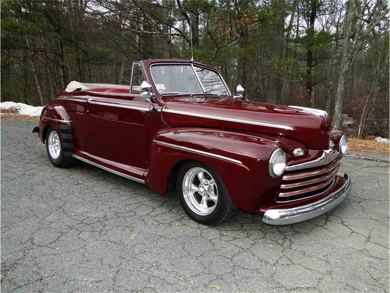 1947 ford convertible for sale cc 1069507. Black Bedroom Furniture Sets. Home Design Ideas