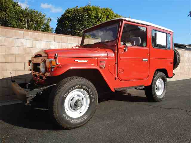 Picture of '78 Toyota Land Cruiser FJ located in CALIFORNIA Offered by California Cadillac And Collectibles - MXCS