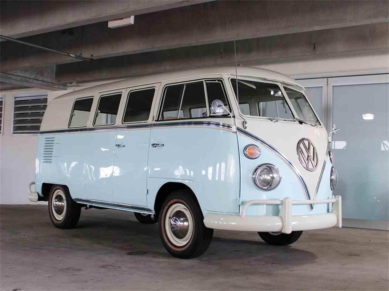1967 volkswagen bus for sale cc 1069732. Black Bedroom Furniture Sets. Home Design Ideas