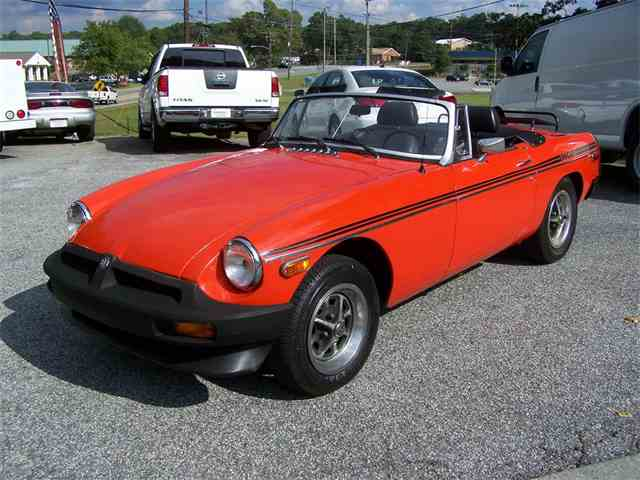 Picture of '79 MGB - MQNJ