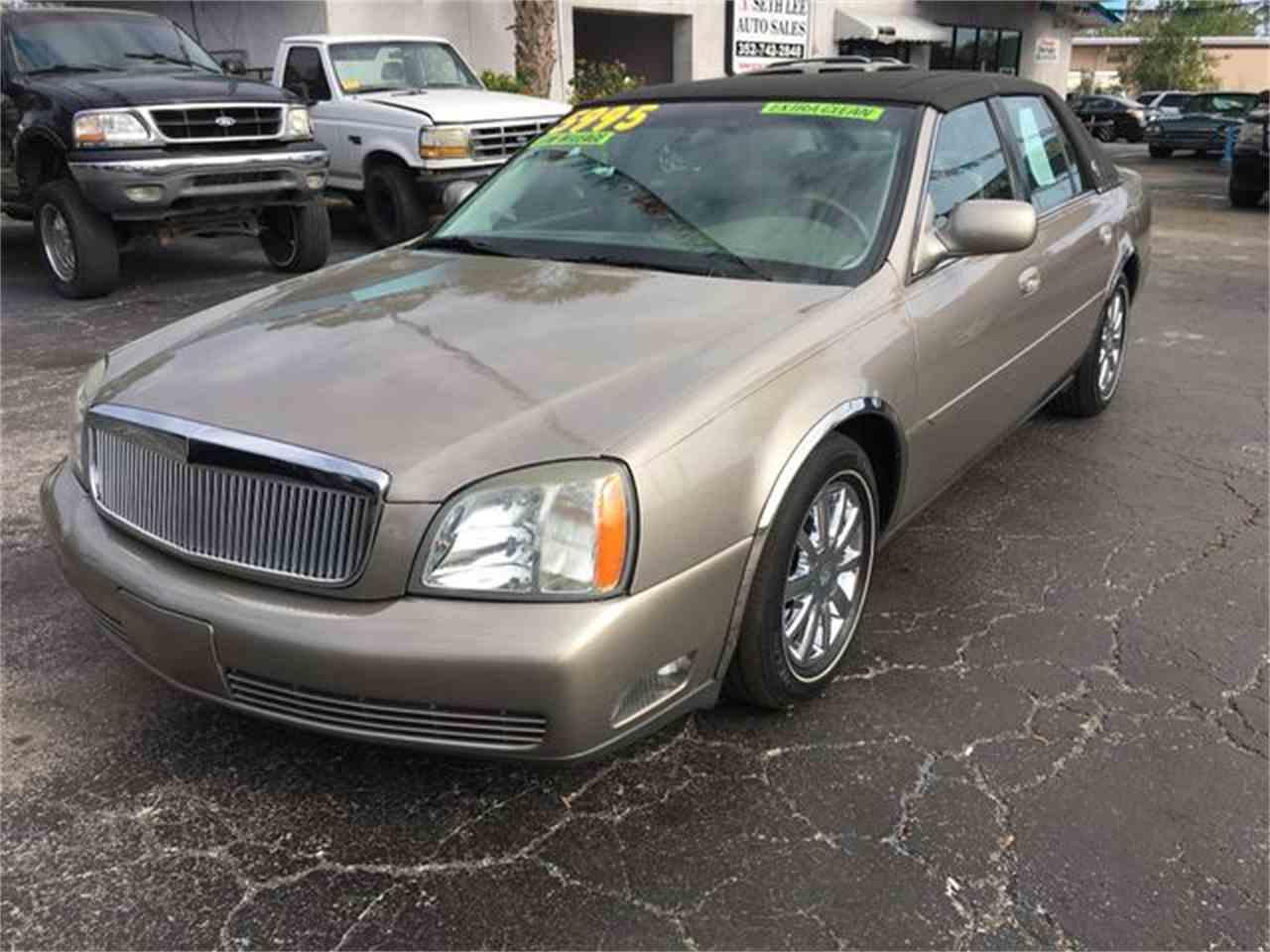 2004 Cadillac DeVille for Sale | ClicCars.com | CC-1069794