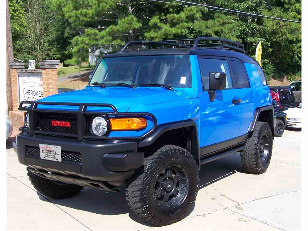 2007 toyota fj cruiser for sale cc 1060987. Black Bedroom Furniture Sets. Home Design Ideas