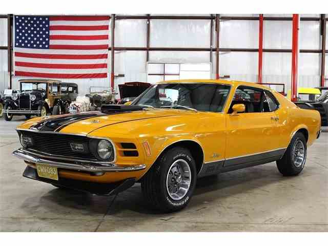 Picture of Classic '70 Mustang located in Michigan Offered by GR Auto Gallery - MYFT