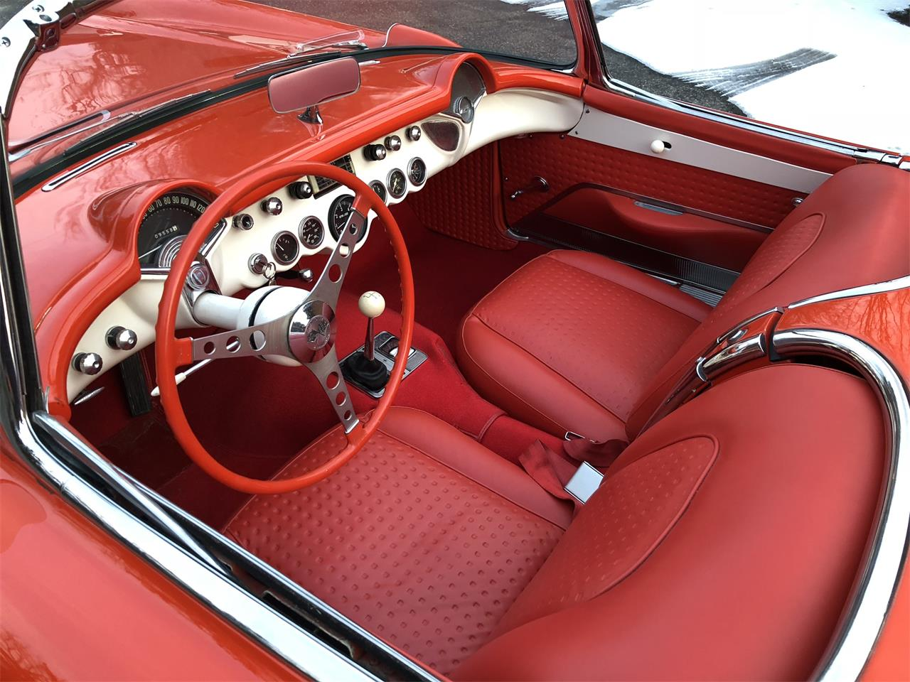 Large Picture of Classic '57 Chevrolet Corvette located in Indiana Offered by Earlywine Auctions - MYHK