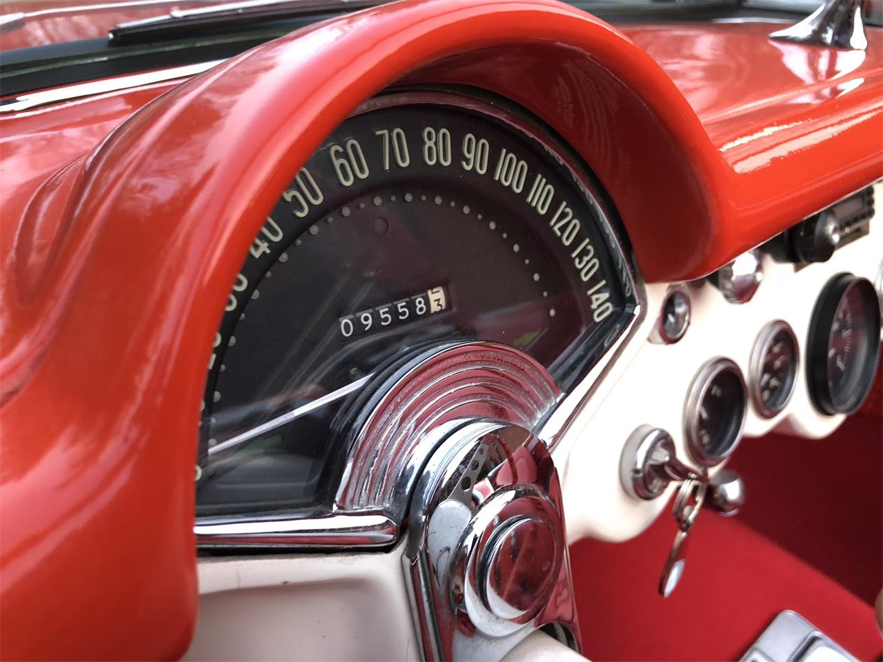Large Picture of Classic '57 Chevrolet Corvette located in Kokomo Indiana Offered by Earlywine Auctions - MYHK