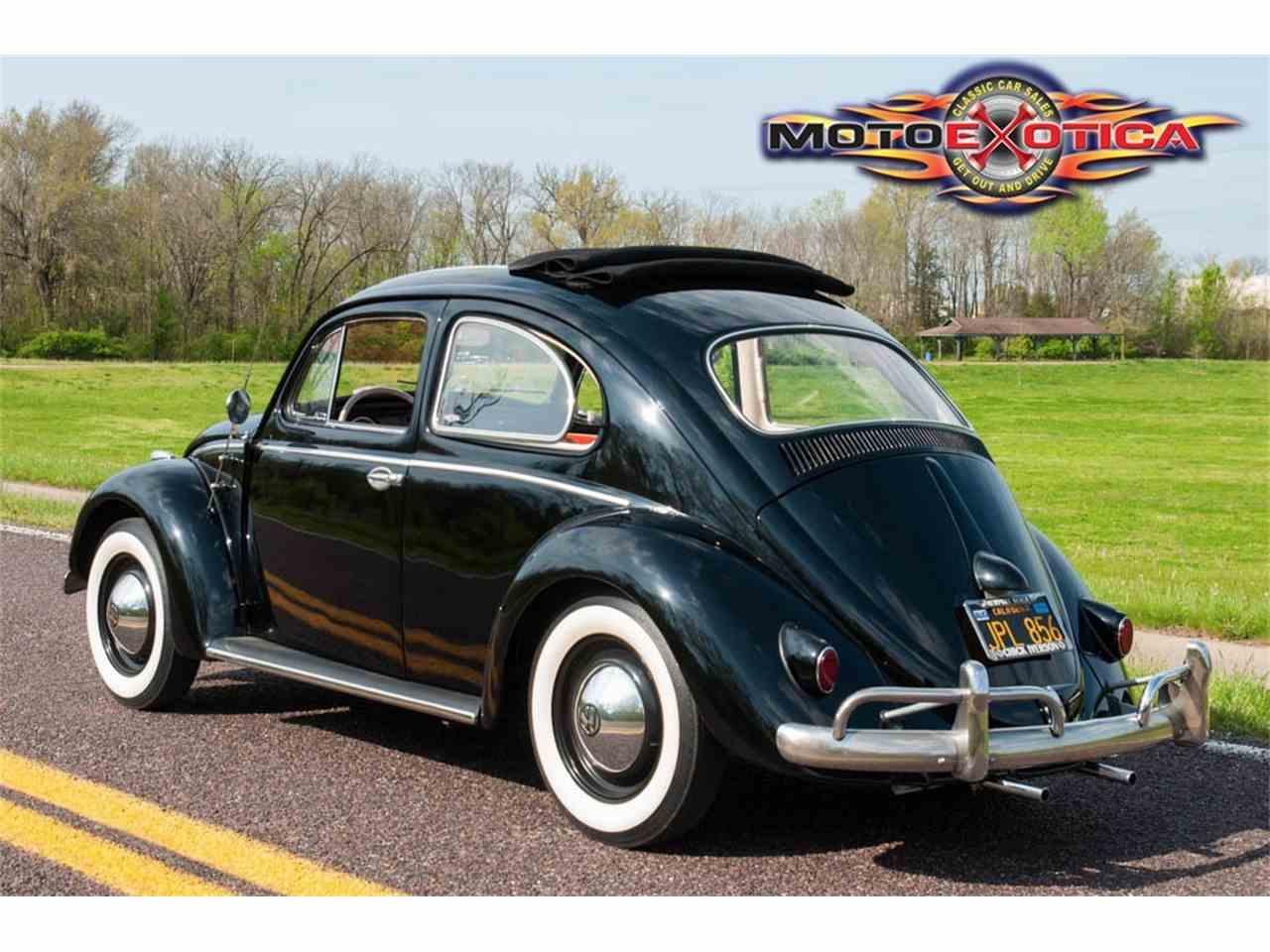 1958 Volkswagen Beetle For Sale Classiccars Com Cc 1070119
