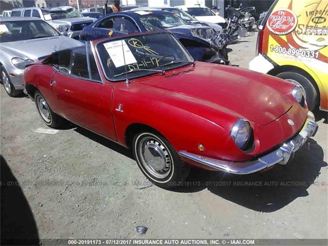 1969 Fiat Spider for Sale   ClicCars.com   CC-1071425