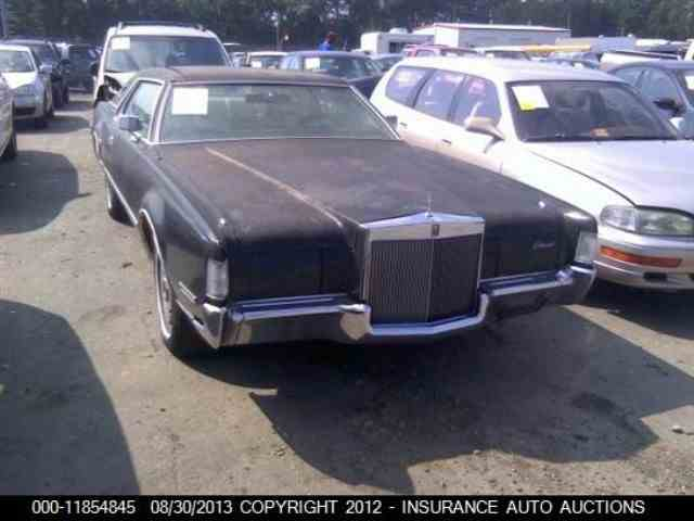 Picture of '72 Continental Mark IV - MYRZ