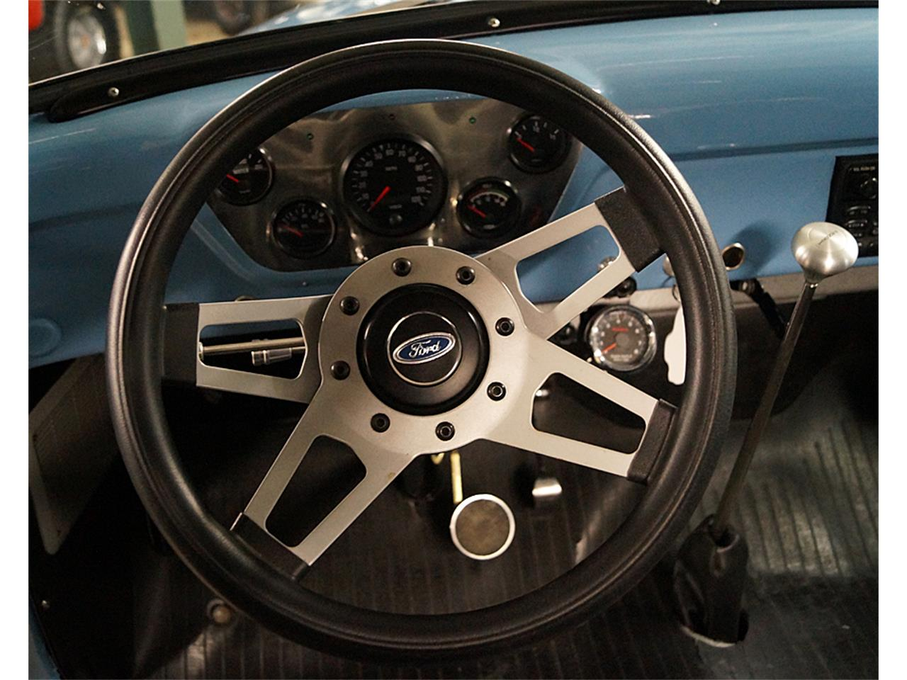 1955 Ford F100 For Sale Cc 1071679 Steering Wheel Black Large Picture Of 55 Mywv