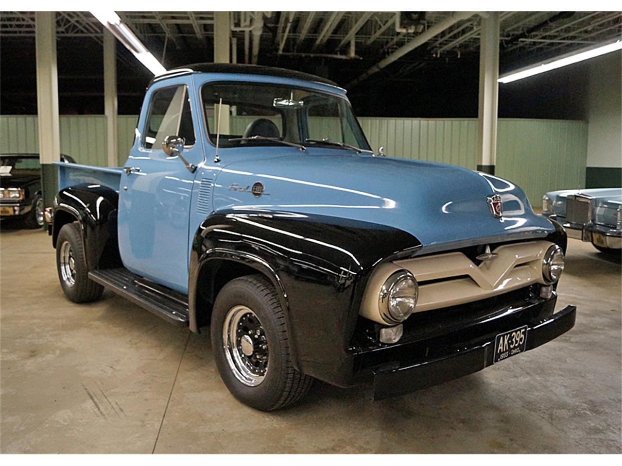 1955 Ford F100 For Sale Cc 1071679 Pick Up Gauge Cluster Large Picture Of 55 Mywv