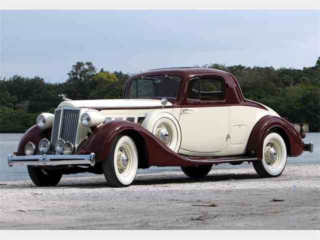 Picture of '36 Super Eight 2/4-Passenger Coupe - MXR1