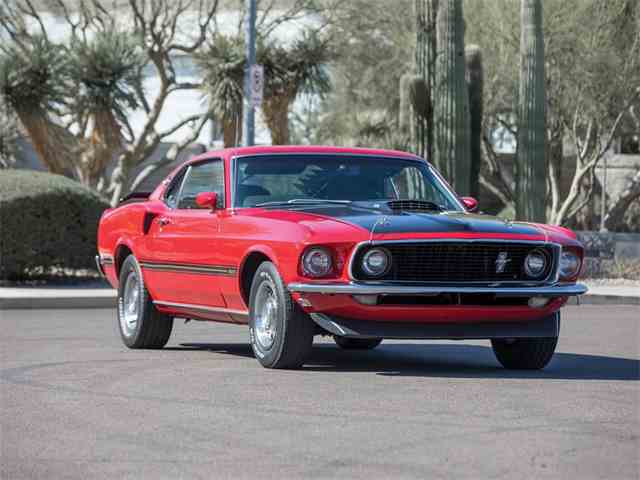 Picture of '69 Mustang Mach 1 - MXRG